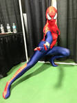 spidergirl action pose