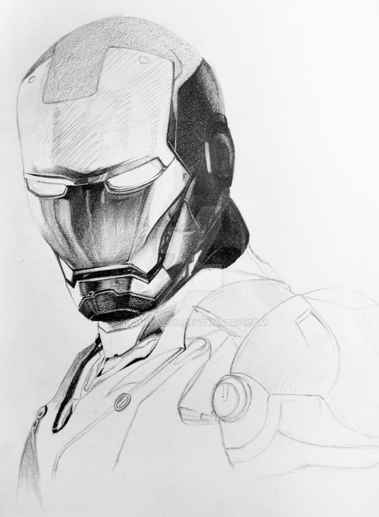 Iron Man WIP by Mahnraeth