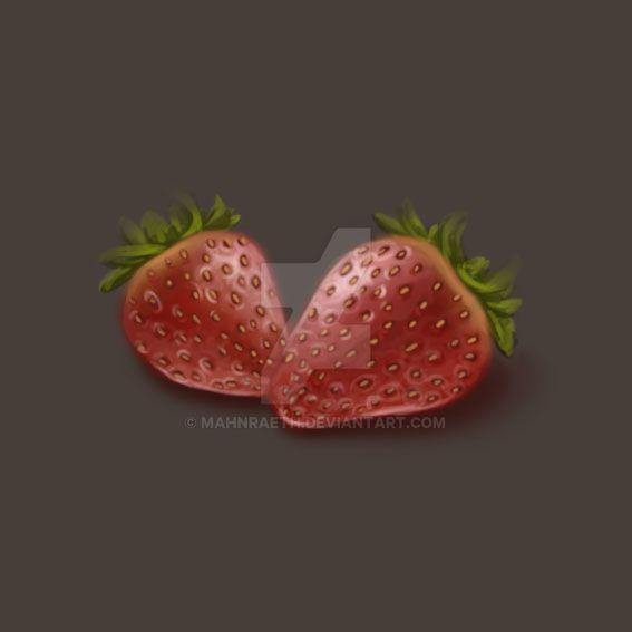 Strawberries by Mahnraeth
