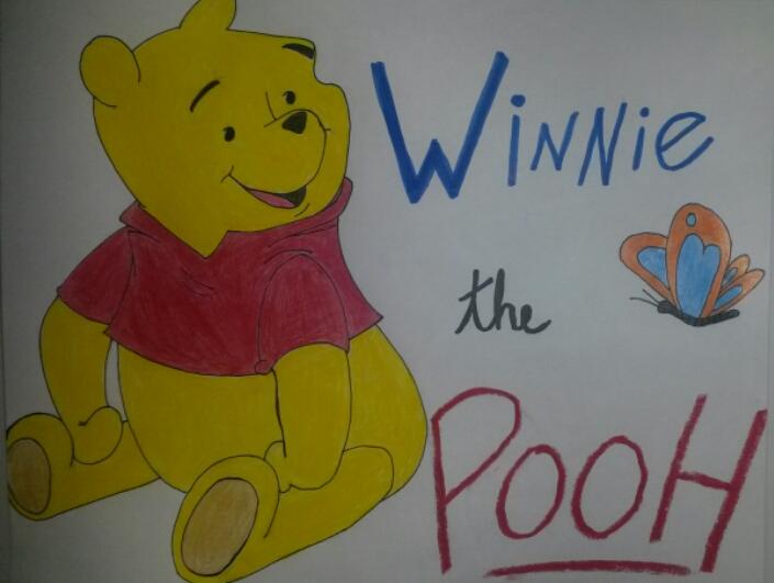 Winnie the Pooh by triplee19
