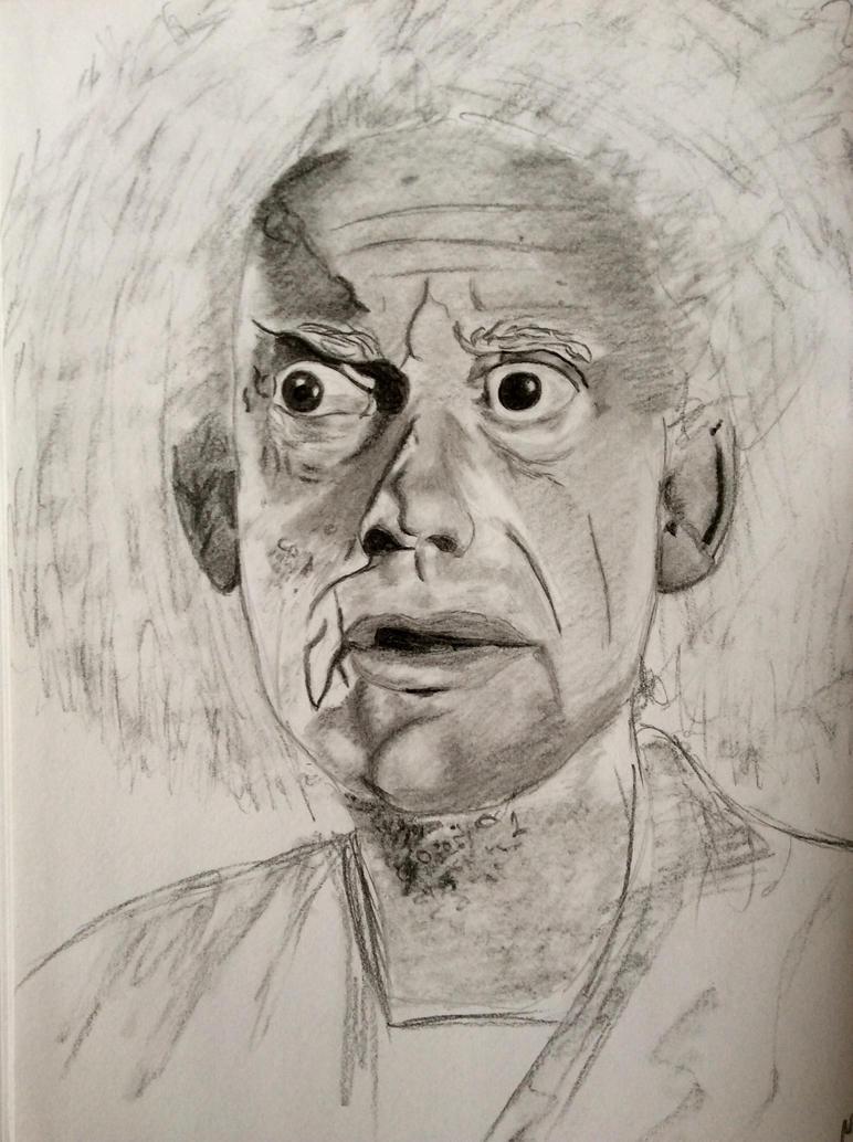 Doc Emmett Brown by RainFeatherDream