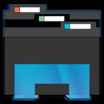 File Explorer Icon - Black (Windows 7 Style)