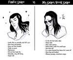 Book vs Fanfic