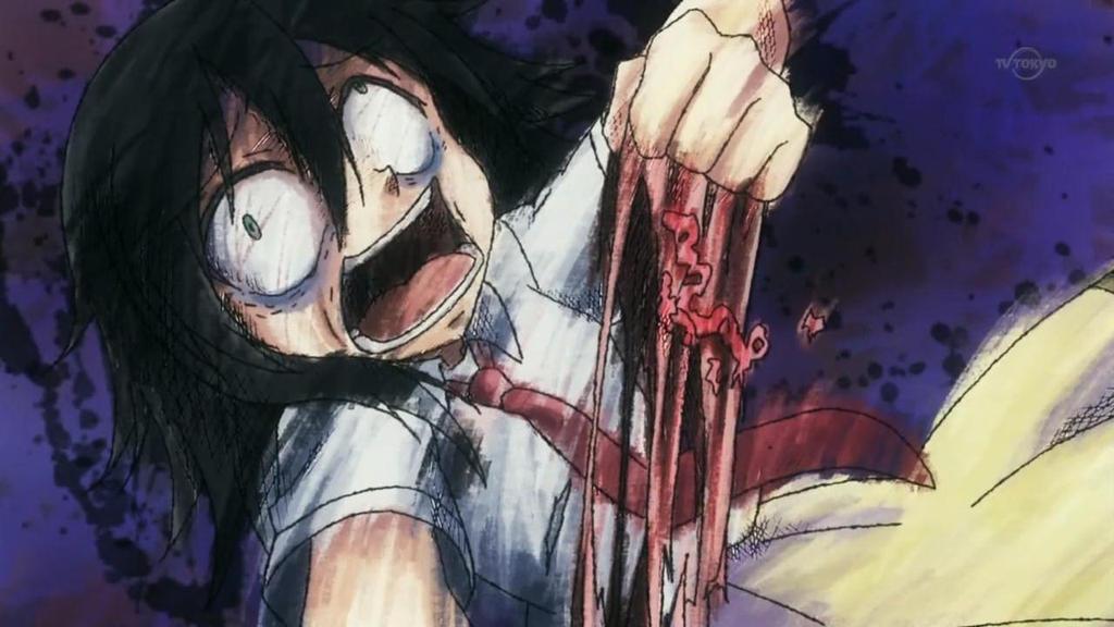 screenshot kuroki tomoko berserk by~HitsuyaYut by HitsuyaYuto