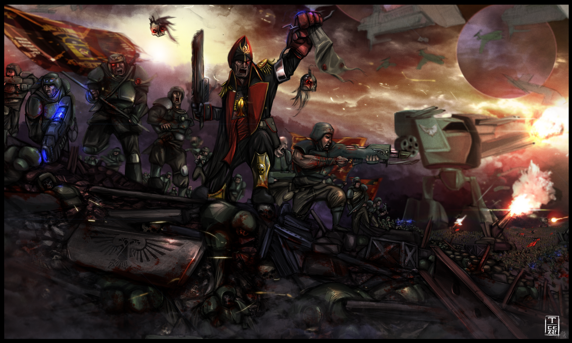 Battle for Cadia by t-cezar