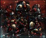 Red Team 40k