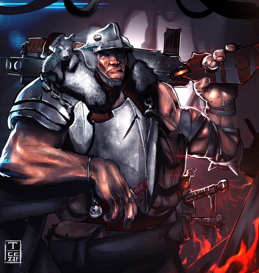 Assault Knight by t-cezar