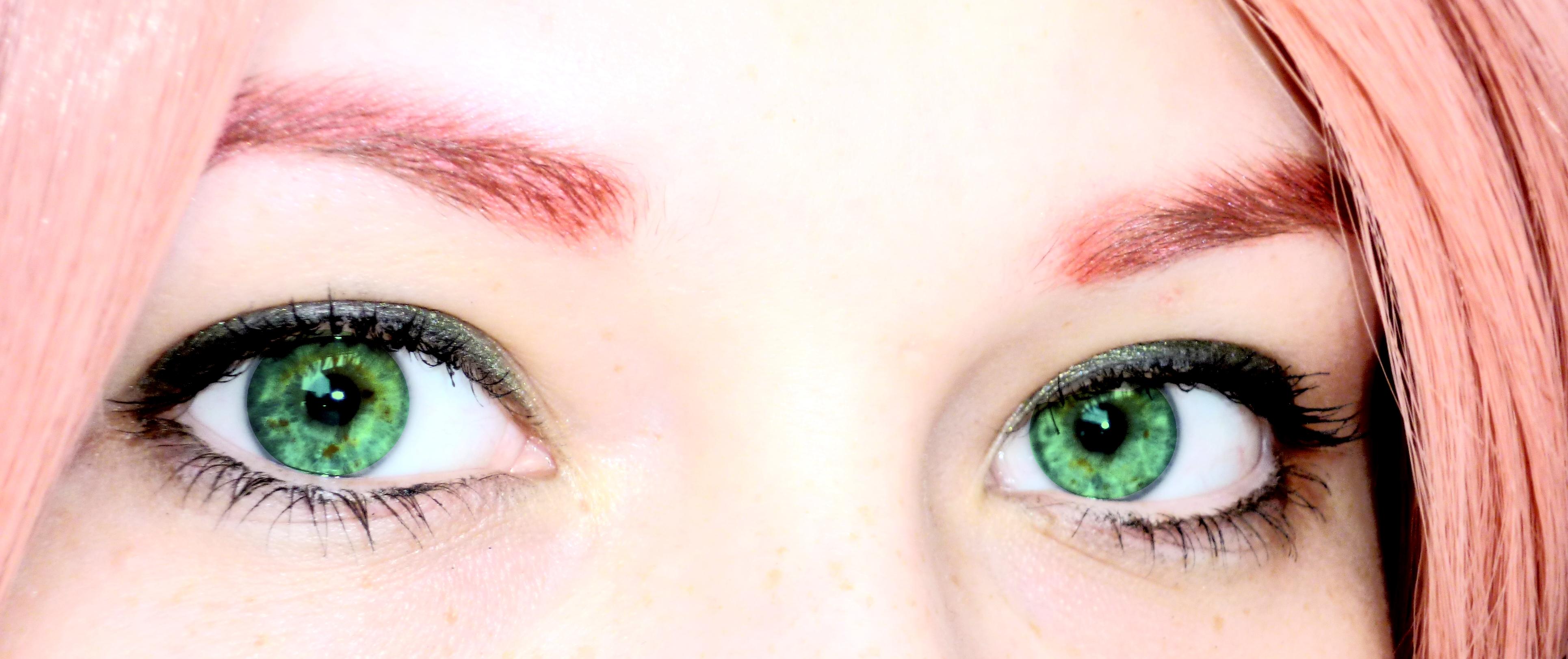 Sakura Haruno green eyes by Gulchachak on DeviantArt