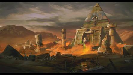 Hermes Ziggurat by sbjct-apollo