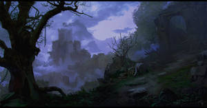 RUINS - Mood Practice #1 by sbjct-apollo