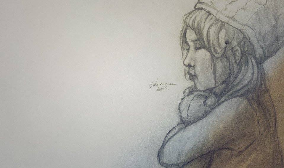 Gaelerie d'Ephasme - Page 4 Childhood_by_ephasme-d9ktfj3