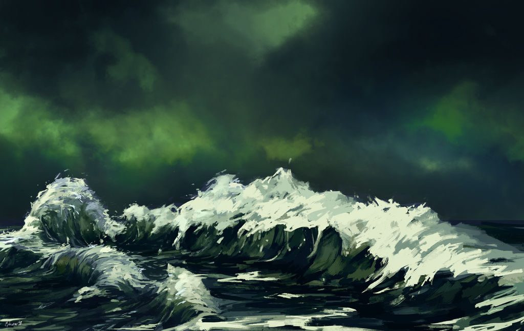 Waves by Ephasme