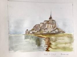 Mont st michel by Ephasme