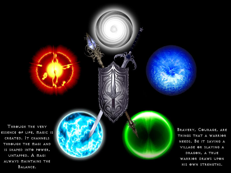 Five Elements Art : The five elements by oofat on deviantart