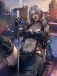 Ciri of Cyberpunk2077