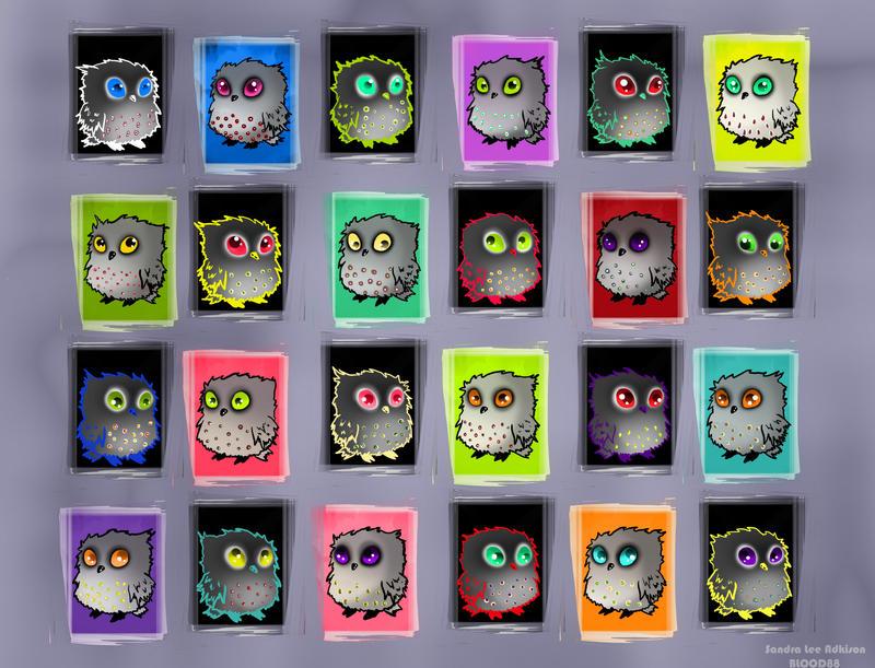 OWLS o_O by Blood-Contagion