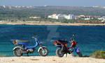 Motorbikes in Love