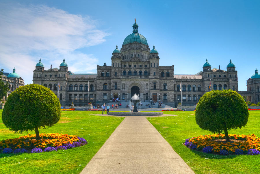 Parliament Buildings Victoria