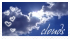 clouds stamp by ivadesign