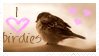 bird stamp 2 by ivadesign