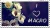 i love macro stamp