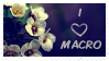 i love macro stamp by ivadesign