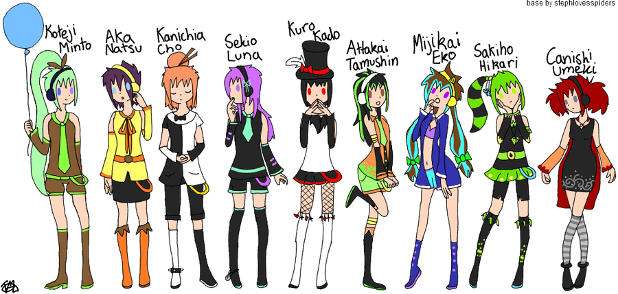All Vocaloids Names English | www.pixshark.com - Images ... Vocaloid Characters Name