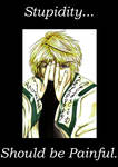 Sanzo's thoughts on stupidity