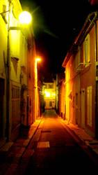 Town Light by eddensheya