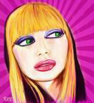 Red Dorsia Portrait