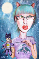 Catwoman's voodoo doll by Pudsybear