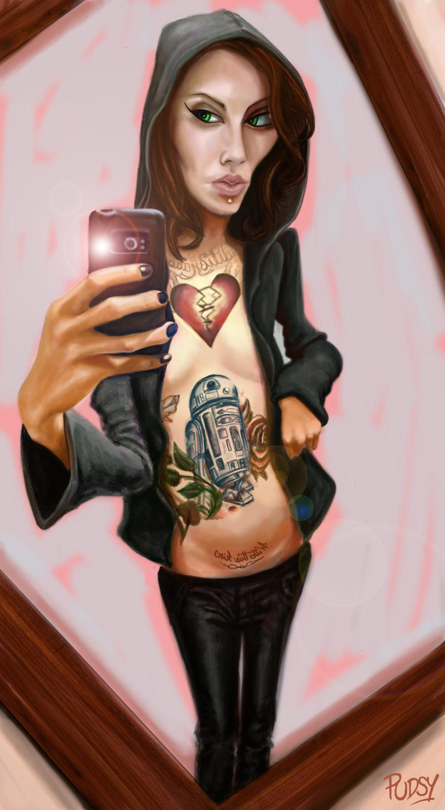 Tattoo Liz - Take 3 by Pudsybear