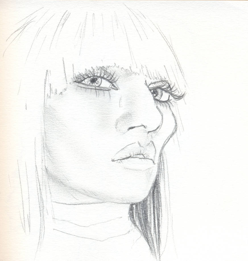 Woman sketch 2 by Pudsybear