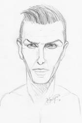 David Beckham by Pudsybear