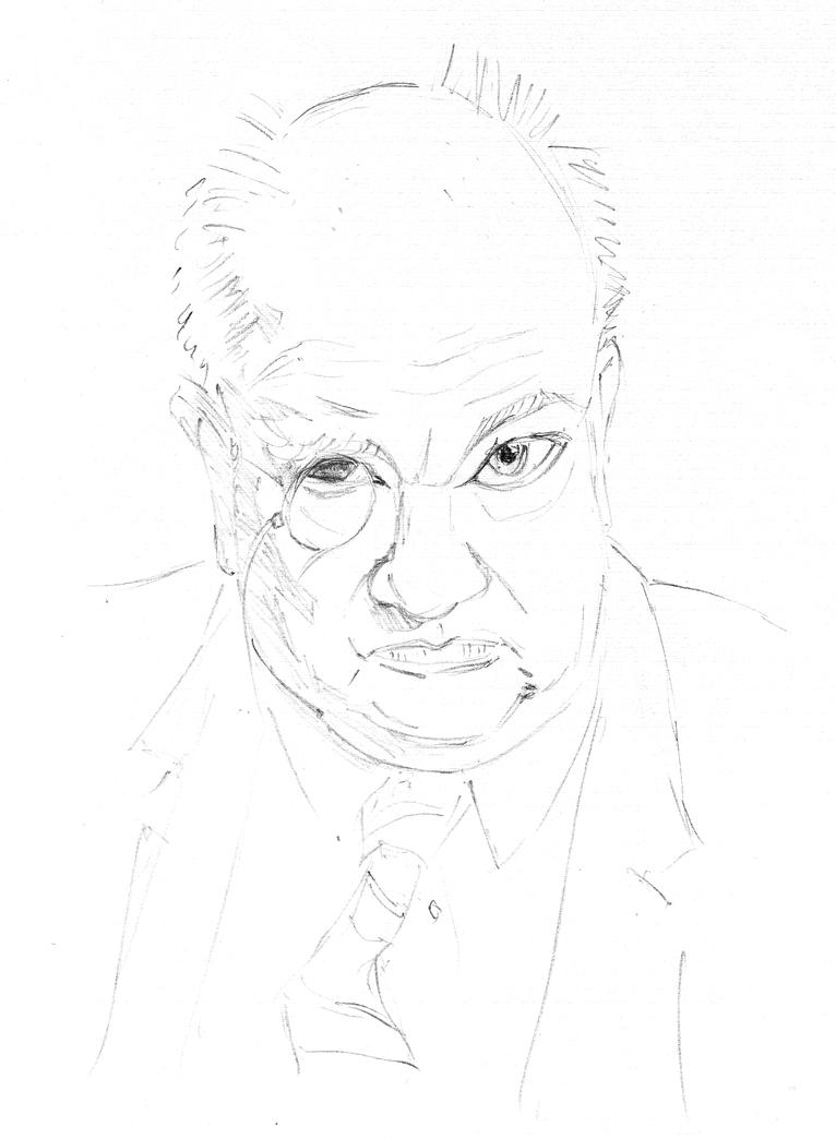Patrick Moore by Pudsybear