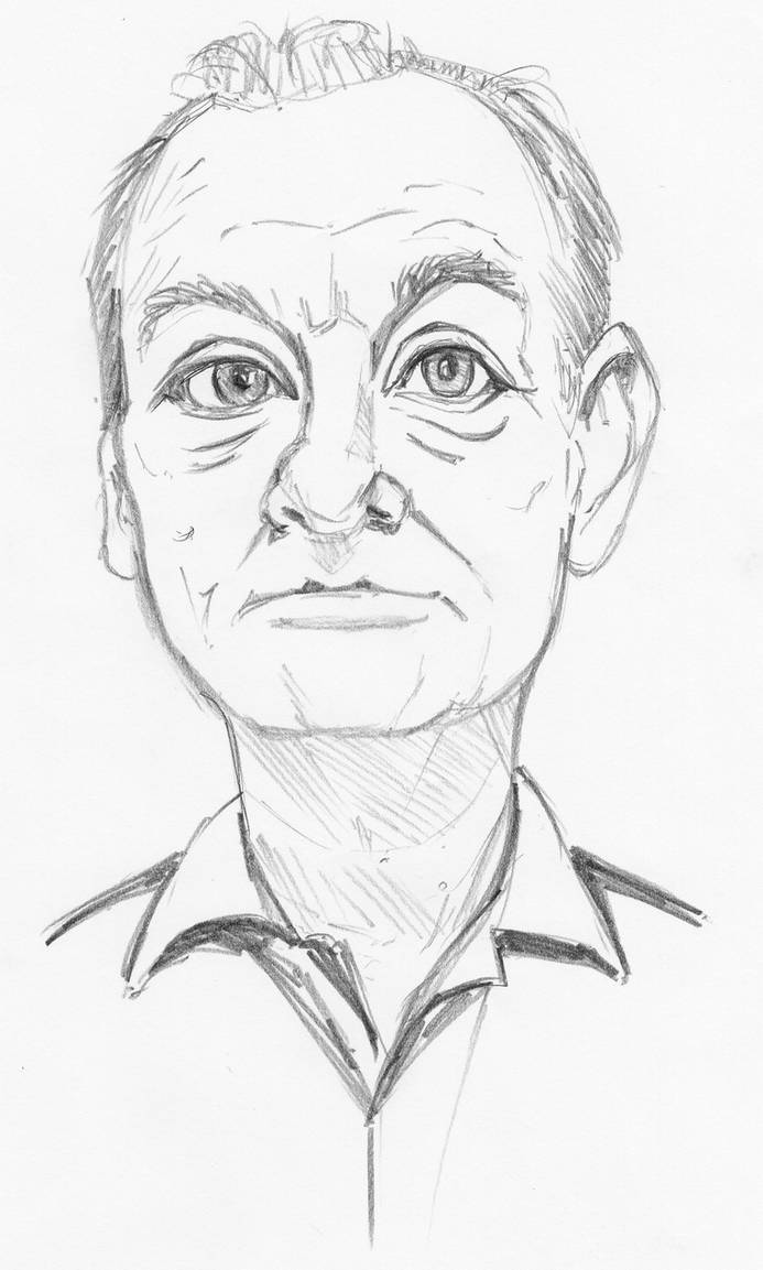 Bill Murray by Pudsybear