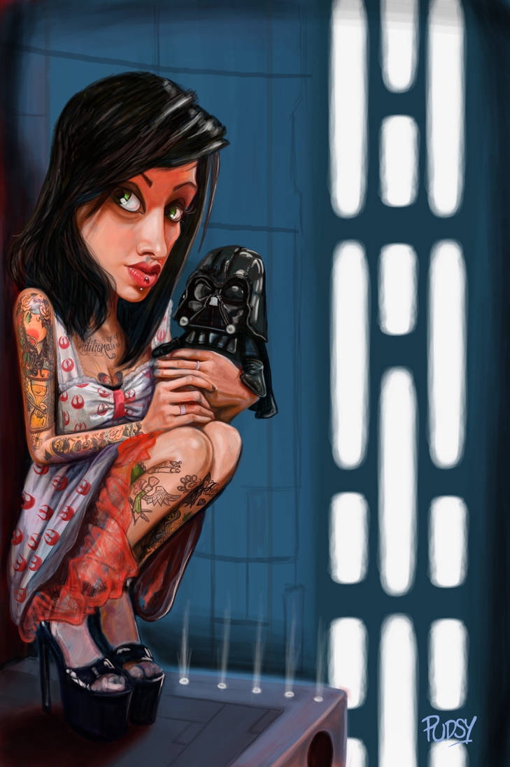 Star Wars Liz by Pudsybear