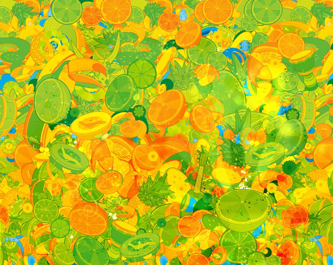 Absolut Brasil - Full Pattern by guimarconi