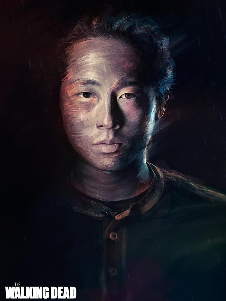 The Walking Dead - Gleen by guimarconi