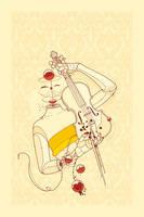 Violin Bubbles by guimarconi