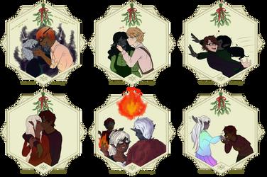 Mistletoe Challenge: Batch 1 by Nalytia