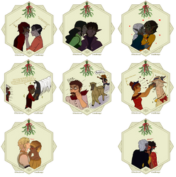 Mistletoe Challenge: Batch 2 by Nalytia