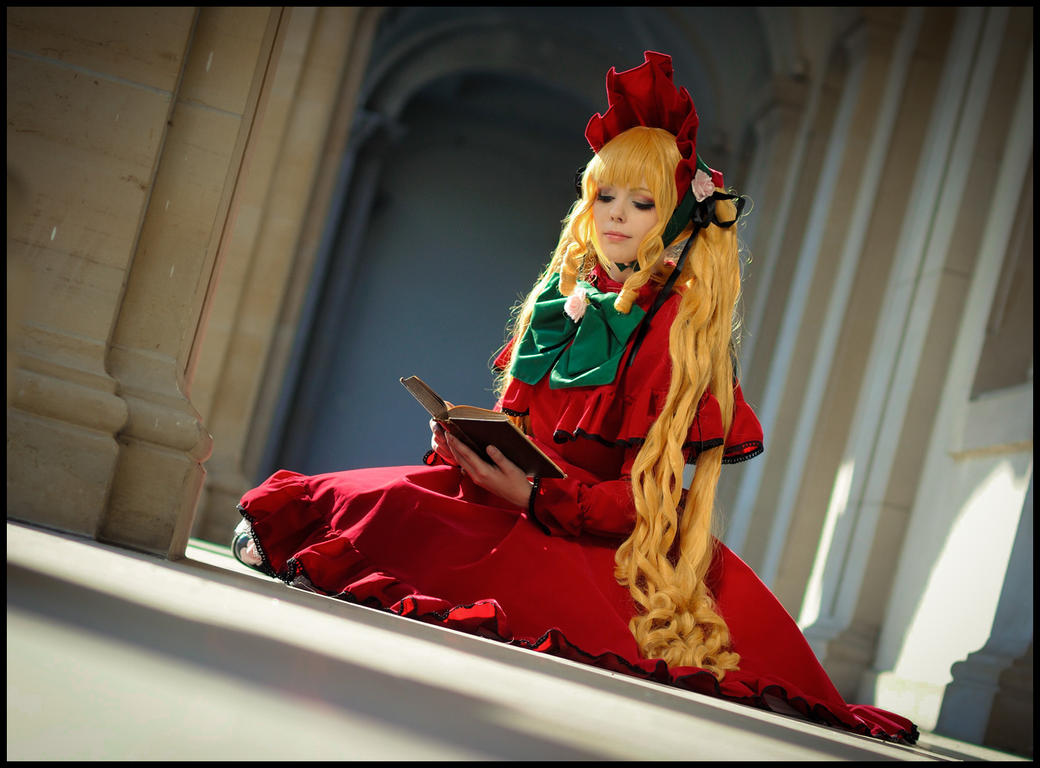 Rozen Maiden - Shinku by Calssara