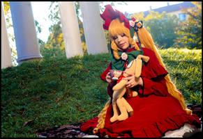 Rozen Maiden - Shinku and tea