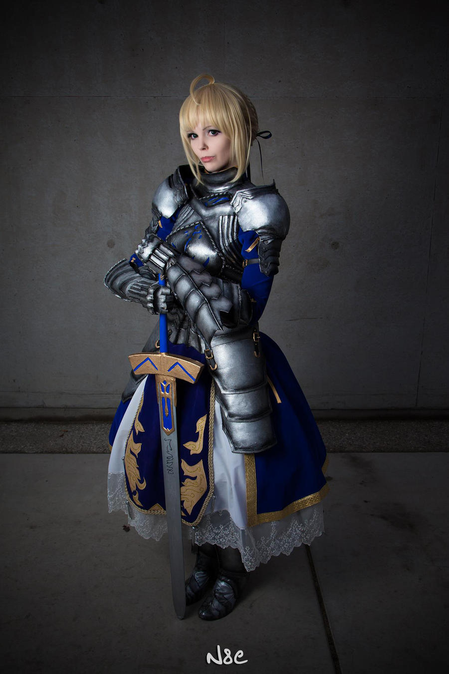 Fate/Stay Night - Saber (Gift version) by Calssara