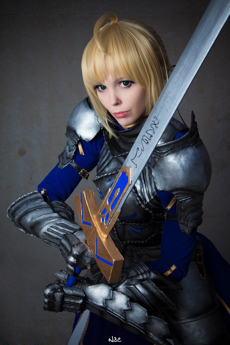 Fate/Stay Night - Saber (Gift version) II by Calssara