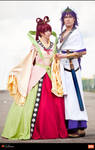 Magi - Kougyoku Ren and Sinbad