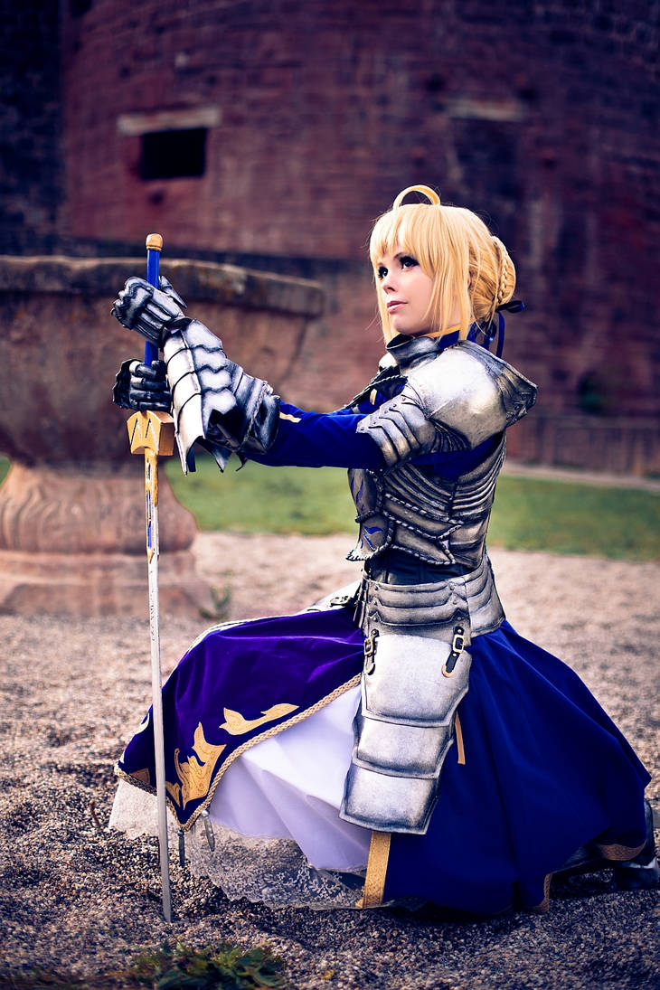 Fate/Stay Night - Saber 'Gift Version' VI by Calssara