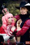 One Piece - Perona and Mihawk II