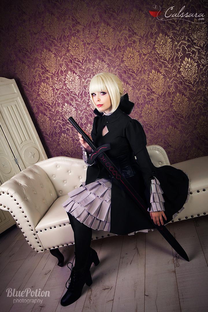 Fate/hollow Ataraxia - Alter Saber III by Calssara